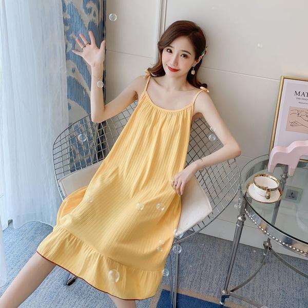 night dress, long skirt, sexy pajamas, Simple