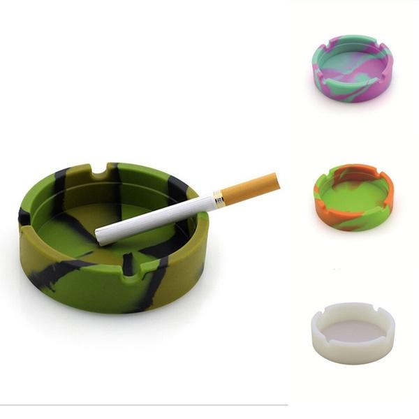 Home Decor, ashtray, Silicone, Durable