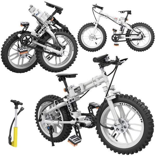 Bikes, Toy, diyblock, buildingblock