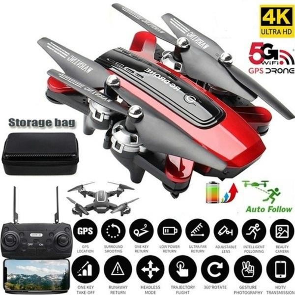 Quadcopter, Gps, Battery, Camera