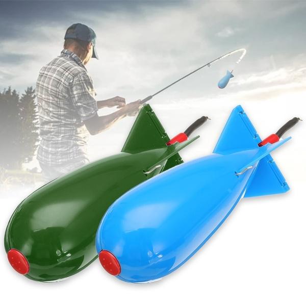 NEW Large Spomb Carp Fishing Spod Bomb Bait Rocket Floats Carp Fishing Feeder /&D