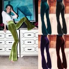 Women Pants, boho, flarespant, Fashion