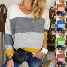 blouse, V Collar, Fashion, Shirt
