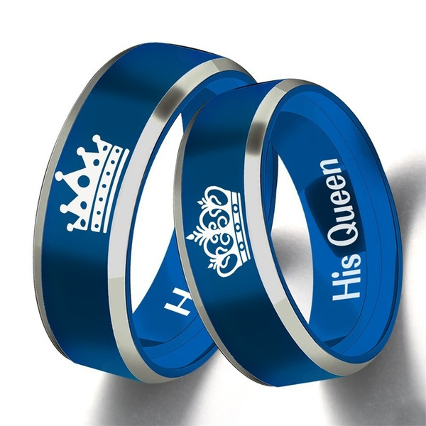 Couple Rings, ringsformen, Engagement, Stainless Steel