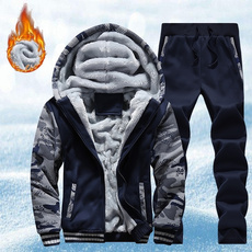 Hoodies, Fleece, Plus Size, Winter