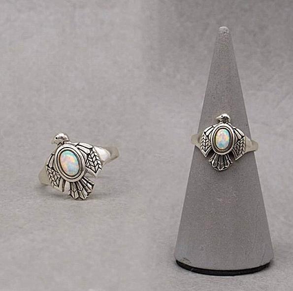 Sterling, vintage ring, 925 silver rings, opaljewelry
