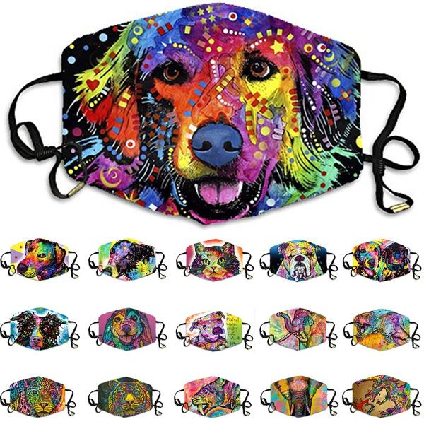colorfulanimalprint, Cotton, Colorful, printedfacemask