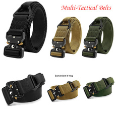 Fashion Accessory, Outdoor, Buckle-Belt, Combat