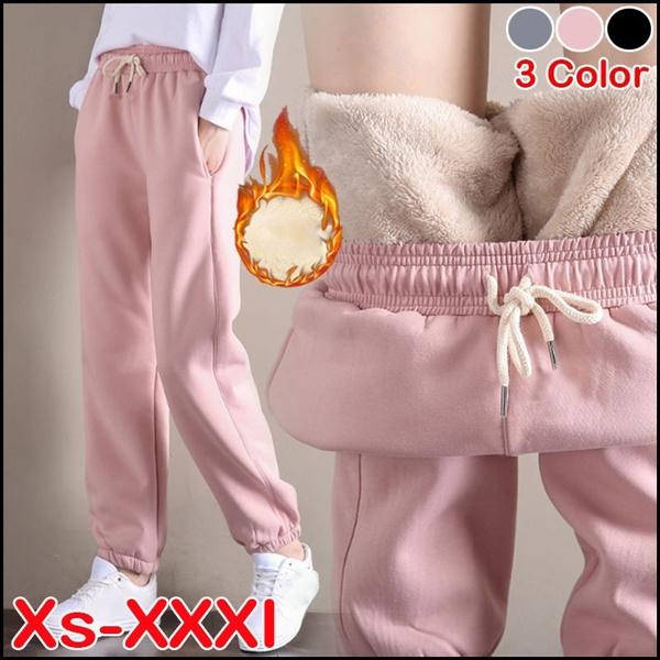 cute, elastic waist, cottonpant, pants