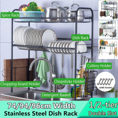 Steel, Kitchen & Dining, tablewareholder, dishorganizer