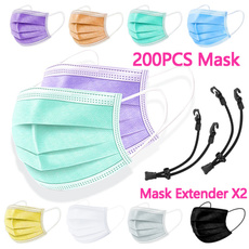 maskwithmaskextender, facemaskholder, disposablefacemask, Face Mask