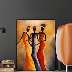 canvasprint, art, africanwomanportrait, Vintage
