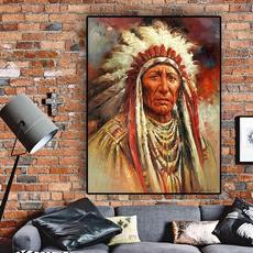 canvasart, art, Home Decor, nativeindianart