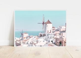 Pastels, canvasprint, art, Home Decor