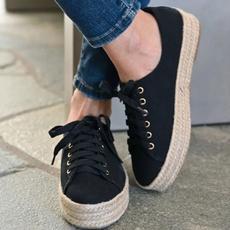 Plus Size, Platform Shoes, Spring/Autumn, Loafers