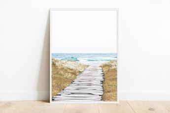 beachposter, Decor, art, Home Decor