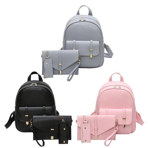 Shoulder Bags, School, Bags, leather