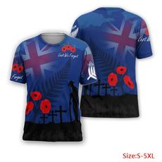 T Shirts, 3dprinttshirt, lestweforgettshirt, newzealandlestweforgettshirt