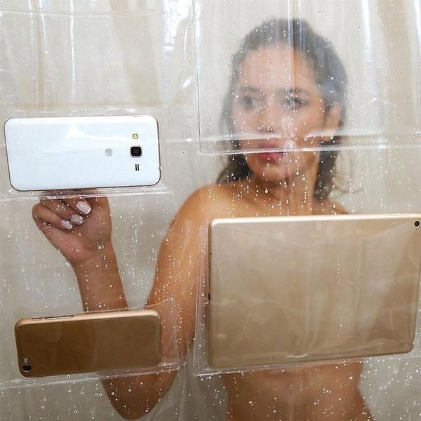 bathroomdecor, pedestalrug, showercurtainsset, Shower Curtains