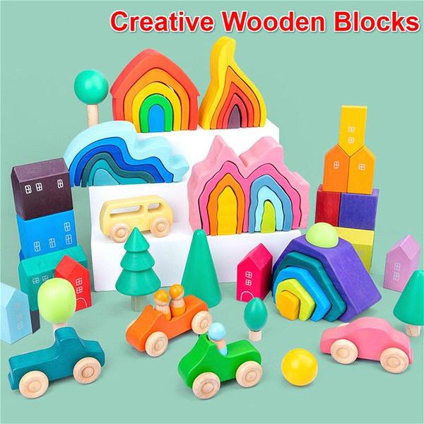 rainbow, diy, Toy, montessoritoy