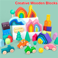 rainbow, diy, Toy, montessoritoy