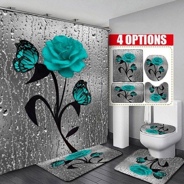 butterfly, decoration, Bathroom, Bathroom Accessories