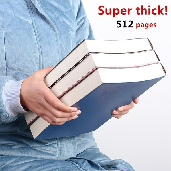 superthicknotebook, suitableforwritingdrawingpastingphoto, leather, Office & School Supplies
