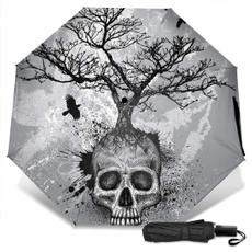 miniumbrella, Umbrella, sunumbrella, skull