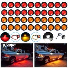 amber, led, trucksidelight, Lighting