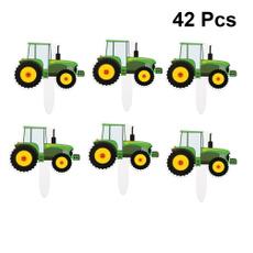 decorativecaketopper, vehiclecakepick, papercakedecoration, tractorcaketopper