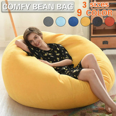 Cotton, beanbag, puffsofa, couch