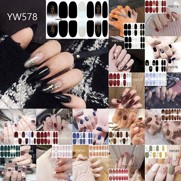 nail stickers, DIAMOND, Jewelry, Beauty