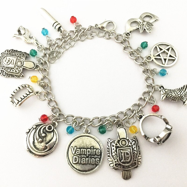 Charm Bracelet, thevampirediarie, Jewelry, Gifts