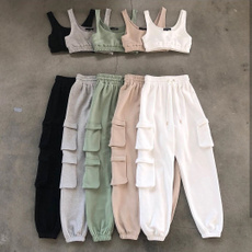 Women Pants, crop top, sportsset, track suit