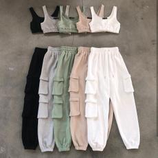 Women Pants, crop top, sportsset, track suit
