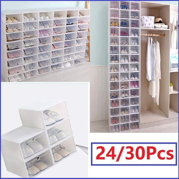 Box, shoesstoragebin, Storage, foldableshoebox