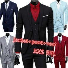 businesssuit, Vest, Plus Size, groomdre