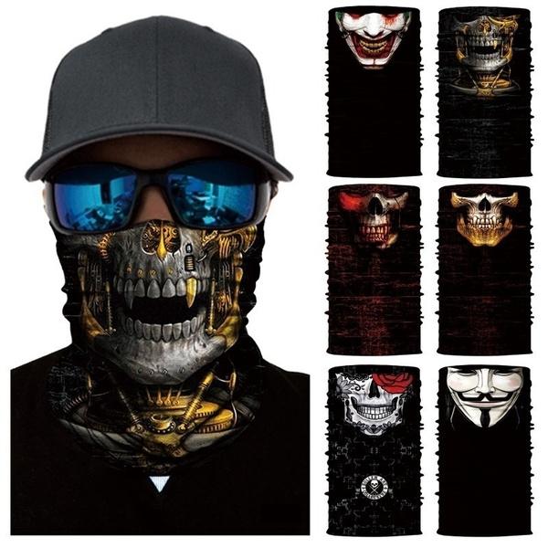Fashion, motorcyclemask, halloweengift, bicycleskullmask