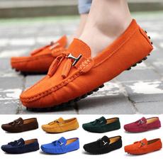 casual shoes, Flats, moccasinshoe, Plus Size