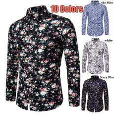 holidayshirt, shortsleevedcasualshirt, 2020newmensshortsleeve, Shirt