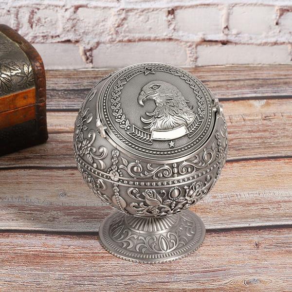 Craft Supplies, Home & Kitchen, Decor, ashtraywithlid