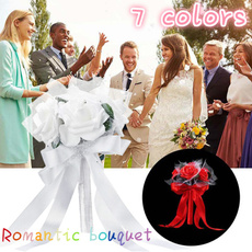 Bridesmaid, artificialroseflower, Bride, Bouquet