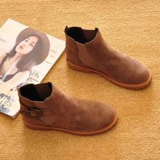Shoes, Buckle-Belt, Breathable, cuteshoe