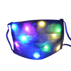 light up, party, led, partymask