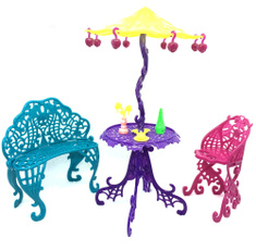 Barbie Doll, couchcushion, Bar, sunumbrella