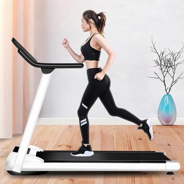 New Folding Electric Treadmill Motorised Portable Running Machine Fitness Lot