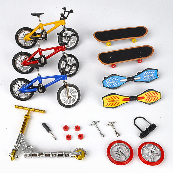 Mini, Toy, fingerscooterbike, twowheelscooter