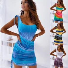 Sleeveless dress, dressesforwomen, vest dress, short dress