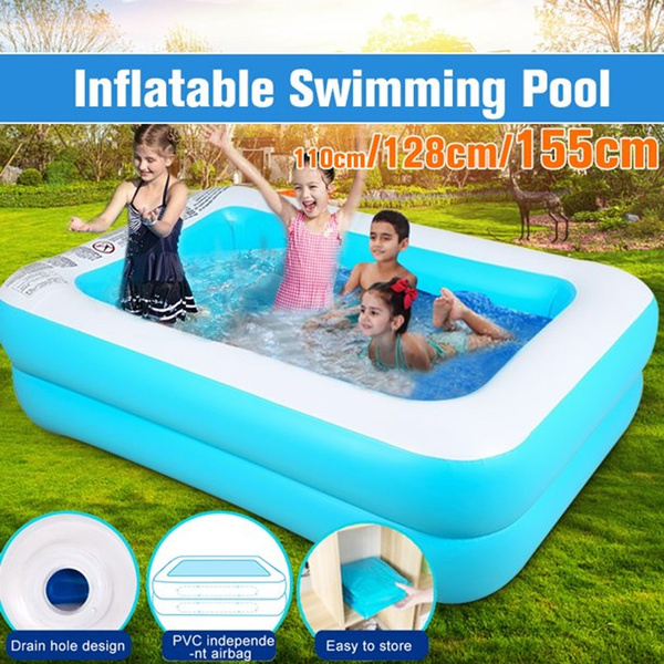Kids Children Summer Inflatable Paddling Pools For Home Garden Outdoor Use Multi Purpose Portable Swimming Pool Wish