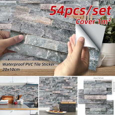 bricksticker, Home Decor, backsplashtile, Waterproof